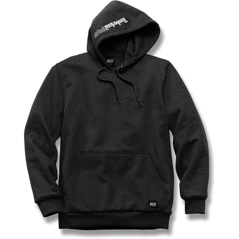 Timberland Pro Double-Duty Pullover Mens Jet Black Fleece Heavyweight Hoodie