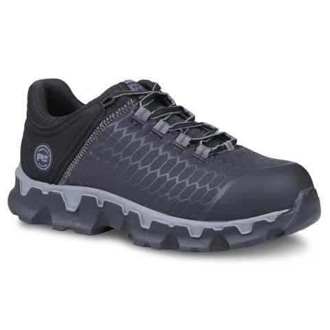 Timberland Pro Powertrain AT SD Womens Black Ripstop Work Shoes