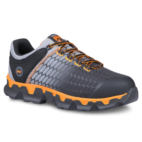 Timberland Pro Powertrain AT SD Mens Grey/Orange Ripstop Work Shoes