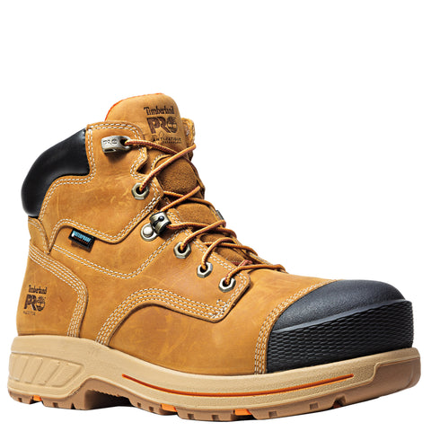 Timberland Pro Helix HD 6in CT Mens Wheat Leather WP Work Boots