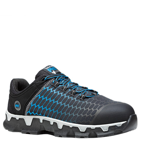 Timberland Pro Powertrain AT EH Mens Black/Blue Ripstop Work Shoes