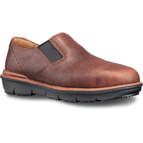 Timberland Pro Boldon SD AT Mens Brown Leather Work Shoes