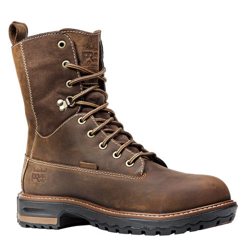 Timberland Pro Hightower 8in AT Womens Dark Brown Leather WP Work Boots