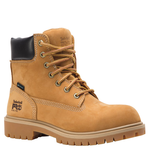 Timberland Pro Direct Attach 6in ST Womens Wheat Nubuck 200G Work Boots