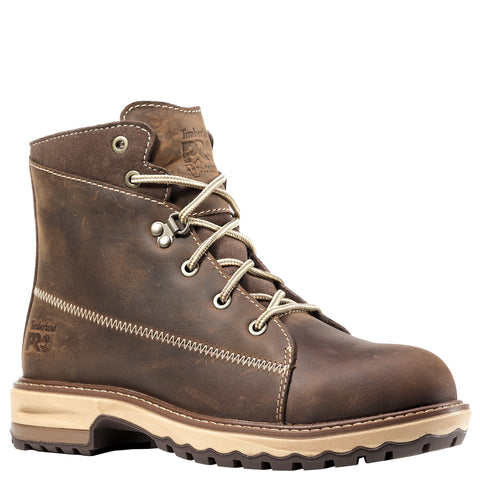 Timberland Pro Hightower 6in AT Womens Dark Brown Leather Work Boots