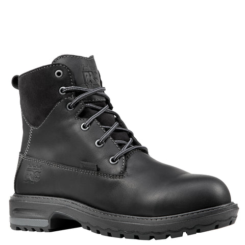 Timberland Pro Hightower 6in AT Womens Black Leather WP Work Boots
