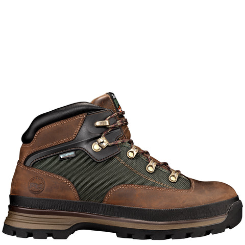 Timberland Pro Euro Hiker Soft Toe Mens Brown Leather Work Boots