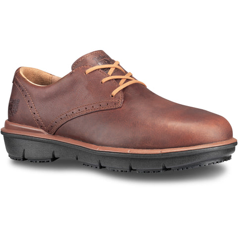 Timberland Pro Boldon SD AT Mens Brown Leather Oxford Work Shoes