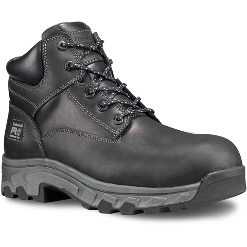 Timberland Pro Workstead 6in CT Mens Black Leather Work Boots
