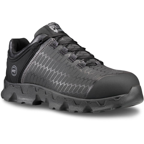 Timberland Pro Powertrain AT SD Mens Black/Grey Leather Work Shoes