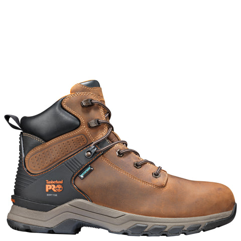 Timberland Pro Hypercharge 6in Soft Mens Tan Leather Work Boots