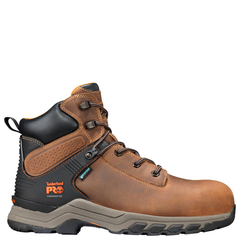 Timberland Pro Hypercharge 6in CT Mens Tan Leather Work Boots