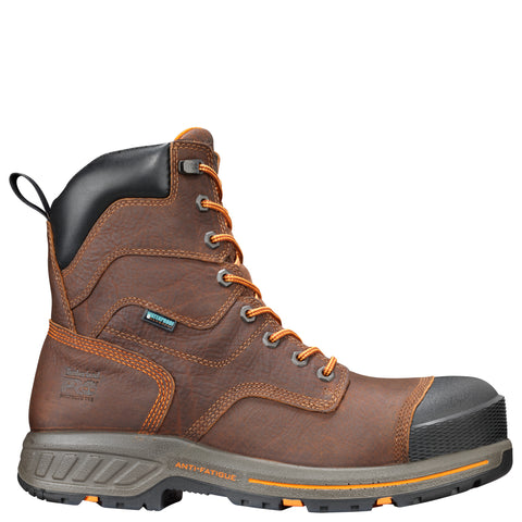 Timberland Pro Helix HD 8in CT Mens Brown Leather Work Boots