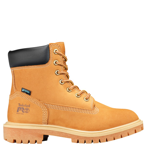 Timberland Pro Direct Attach 6in Soft Womens Wheat Nubuck Work Boots