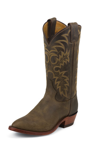 Tony Lama Mens Bay Apache Americana Leather 12in USA Western Boots