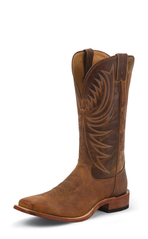 Tony Lama Mens Soft Honey Americana Leather 13in USA Western Boots