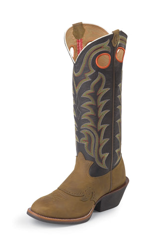 Tony Lama Mens Tan Crazyhorse Leather 3R Western Boots