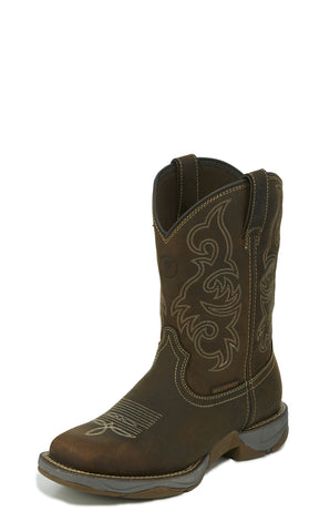 Tony Lama 11in WP Mens San Antone Junction Leather Work Boots