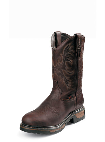 Tony Lama Mens Briar Pitstop W/P Steel Toe Leather Work Boots