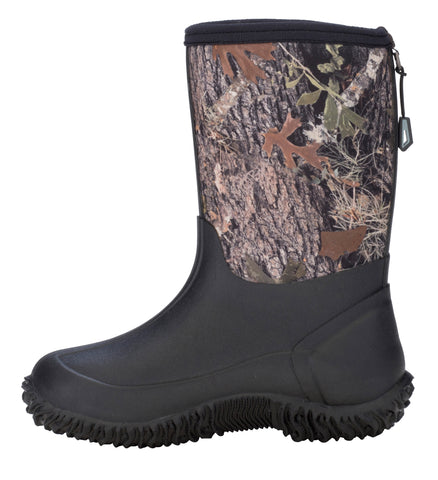 Dryshod Boys Tuffy Mid/Hi Kids Foam Camo/Timber Farm Boots