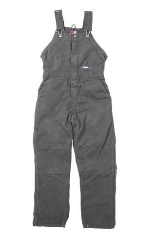 Berne Titanium 100% Cotton Ladies Insulated Bib Overall