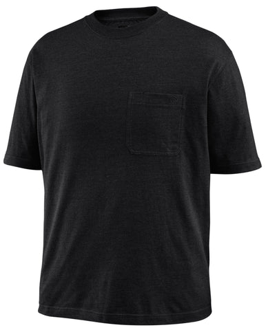 Wolverine Mens Black Cotton Blend Knox Big S/S T-Shirt