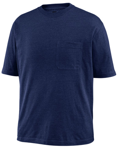 Wolverine Mens Navy Cotton Blend Knox Big S/S T-Shirt