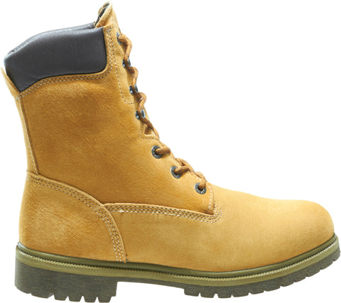 Wolverine Mens Gold Leather 8in Waterproof Insulated Work Boots