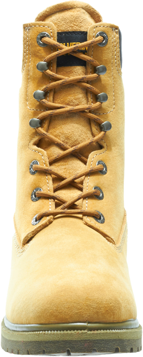 22eb772f5da Wolverine Mens Gold Leather 8in Waterproof Insulated Work Boots ...