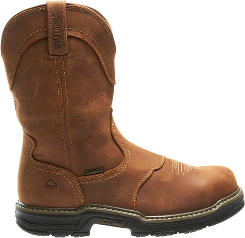 Wolverine Mens Brown Leather Anthem Western ST Work Boots