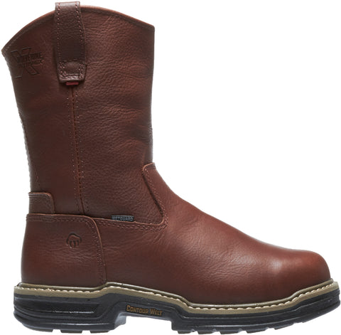 Wolverine Mens Brown Leather Darco WP ST EH Work Boots