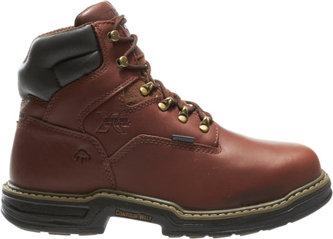 Wolverine Mens Brown Leather Darco WP Metatarsal Work Boots