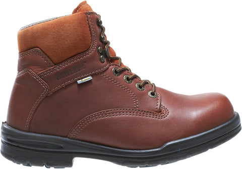 Wolverine Mens Brown Leather Durashocks SR 6in Work Boots