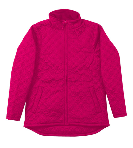 Berne Pomegranate Nylon Ladies Trek Jacket