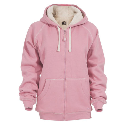 Berne Rose Fleece Ladies Zip Front Hooded Sweatshirt