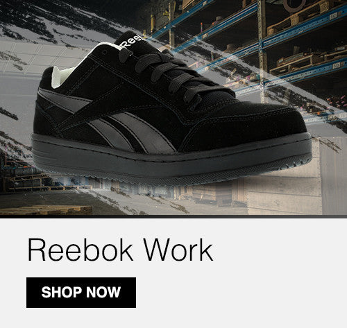 Shop Reebok Work at Workwear Unlimited