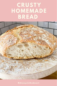 CRUSTY HOMEMADE BREAD