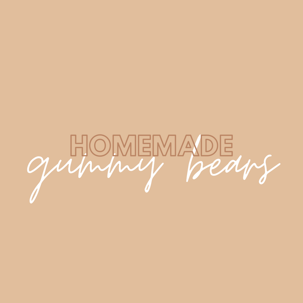 Homemade Gummy Bear Recipe