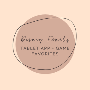 Favorite Kid's Tablet Apps + Games