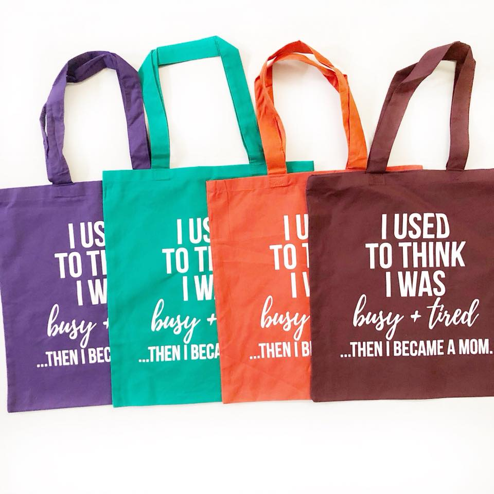 FALL MYSTERY Busy + Tired Tote