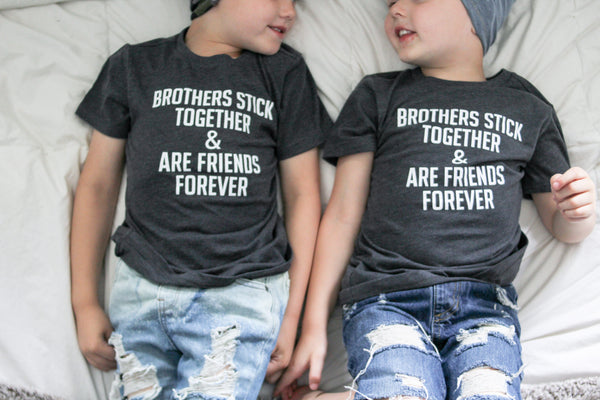 Brothers Stick Together & Are Friends Forever [Infant + Toddler]