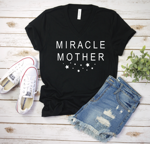 PREORDER Miracle Mother [Black V-Neck]