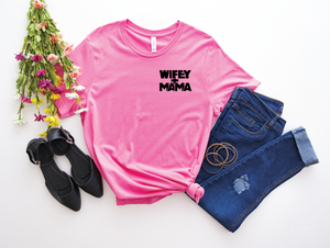 PREORDER Wifey + Mama [Charity Pink Crewneck]