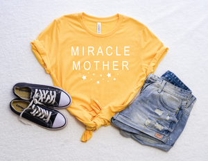 PREORDER Miracle Mother [Heather Yellow Gold Crewneck]