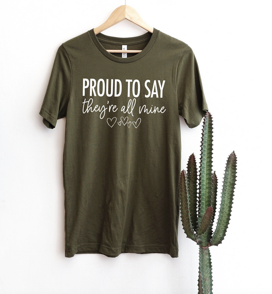 PREORDER Proud - All Mine [Olive Crewneck]
