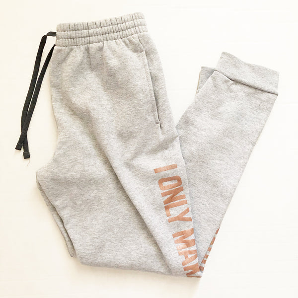 PREORDER I Only Make Boys® Joggers [Athletic Heather]