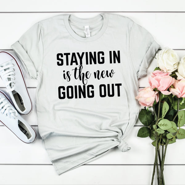 PREORDER Staying In [Silver Crewneck]