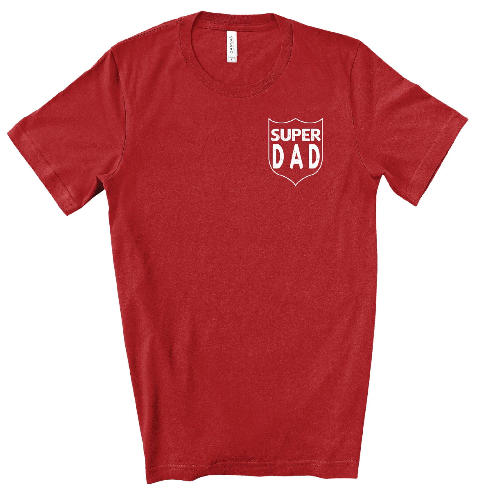 PREORDER Super Dad [Canvas Red Crewneck]
