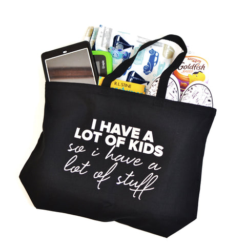 Lots of Kids, Lots of Stuff Tote