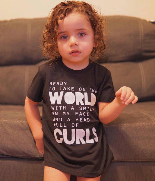 Ready To Take On The WORLD / CURLS